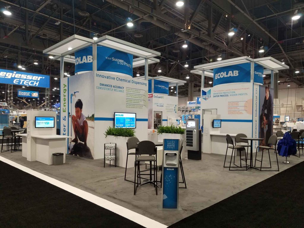 ecolab trade show display