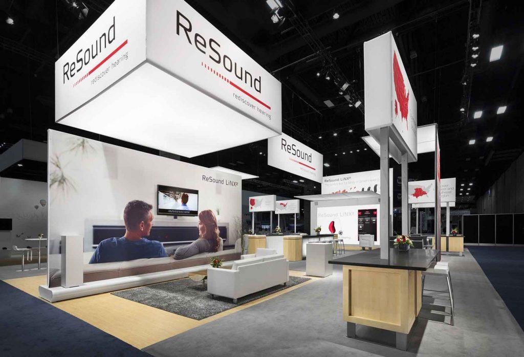 resound trade show display