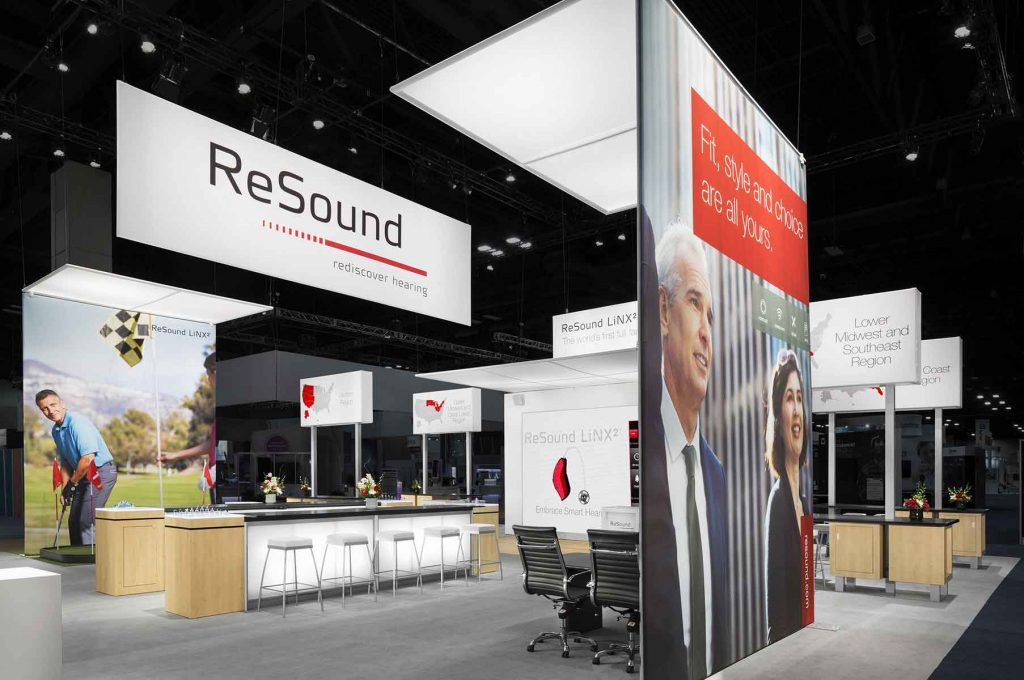 resound trade show display