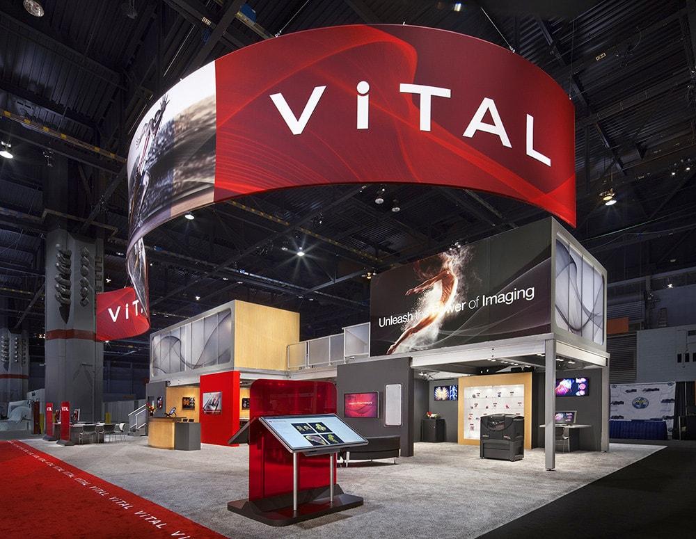 vital trade show display